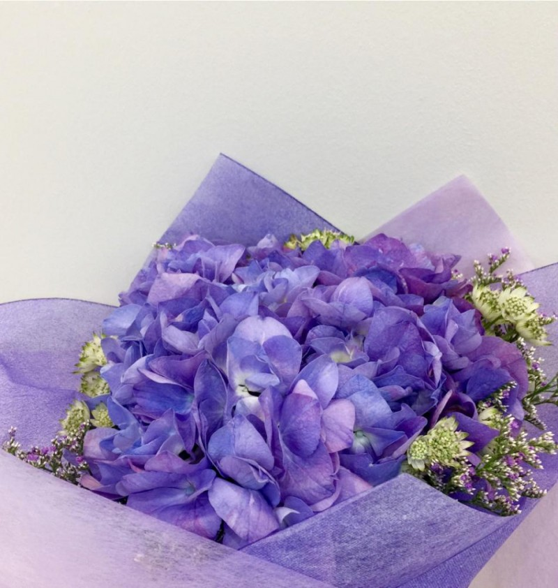 Mystic Purple Dream Hydrangea Bouquet