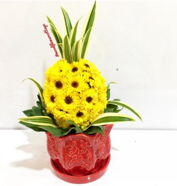 Prosperity Pineapple Arrangement - Small
