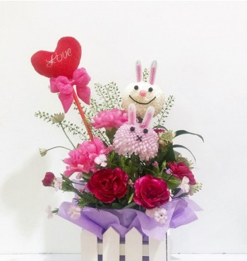 Hunny Bunny - Mother's Day Workshop -- 6 May 2018