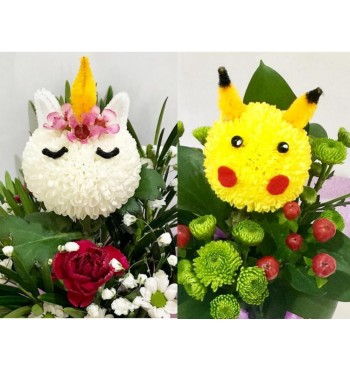 Create your Own Unicorn / Pikachu Bloom Workshop -- 19 August 2018