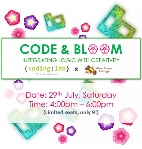Code and Bloom Workshop -- 29 July