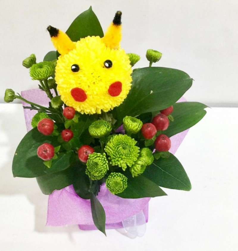 Animal Bloom Arrangement - Pikachu