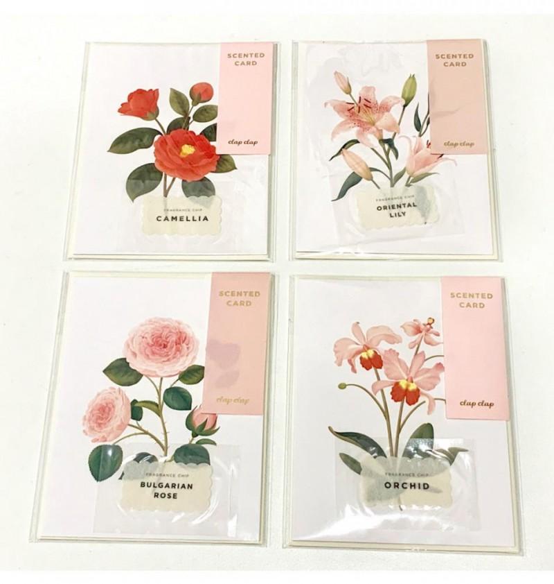Botanical Scented Cards